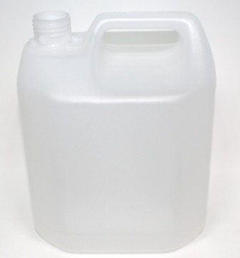 4000ml TAMPER EVIDENT JERRYCAN NATURAL HDPE 38mm 410
