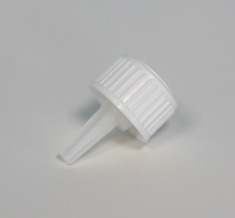 DROPPER FILLER CAP WHITE