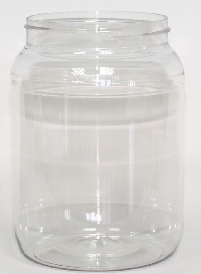 3000ml CLEAR PET JAR 100mm 400