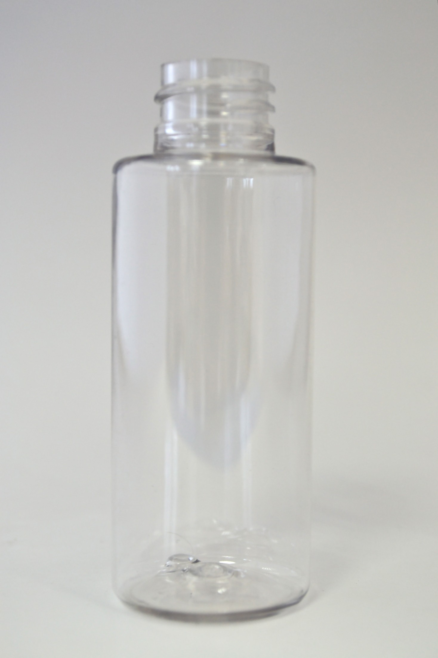 50ml CYLINDRICAL CLEAR PET 20mm 410