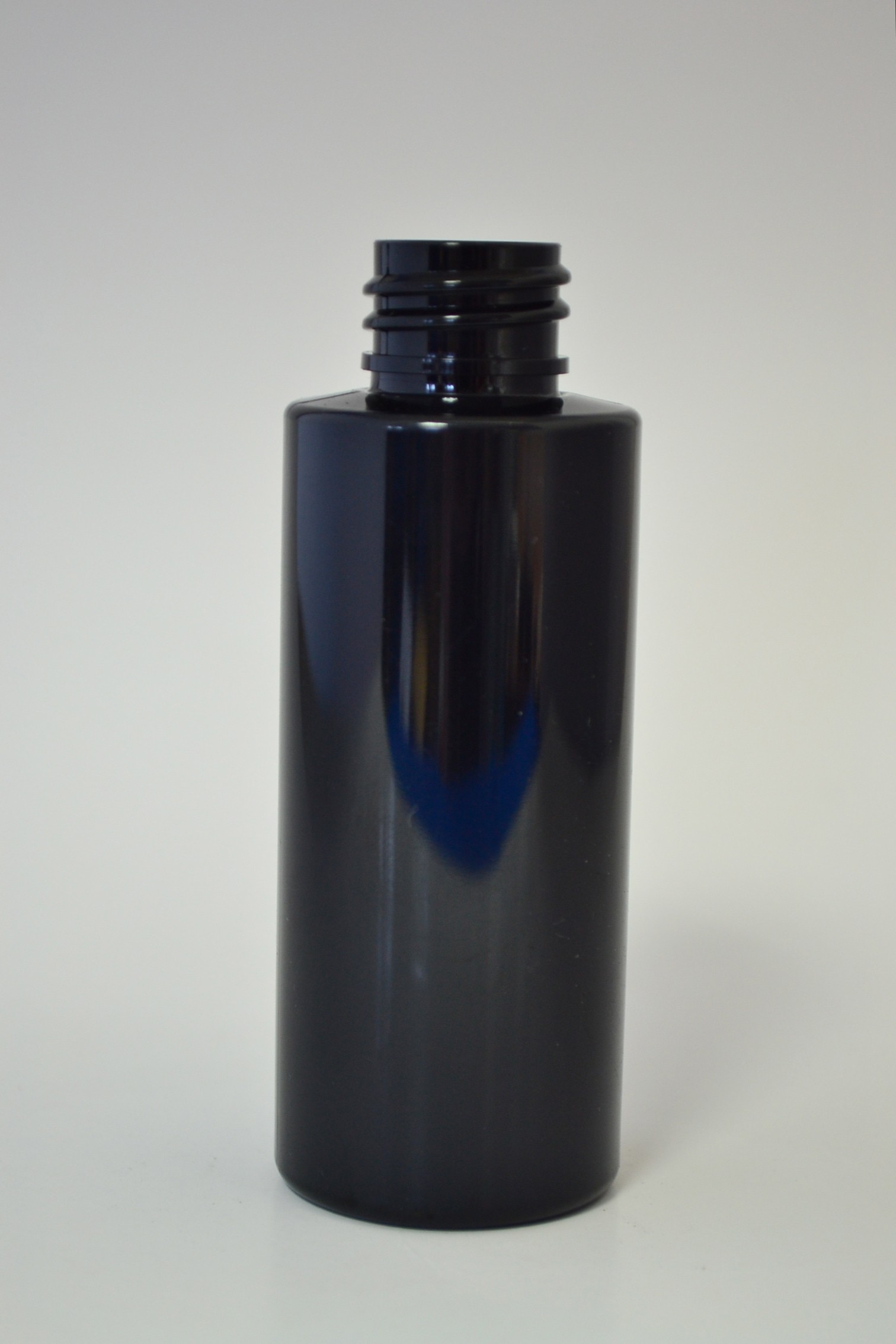 60ml CYLINDRICAL BLACK PET 20mm 410