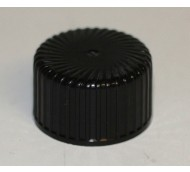 24mm 410 HEAVY MILLED CAP BLACK