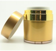 50ml AIRLESS MATT GOLD/SHINY GOLD