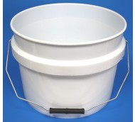 12 LITRE WHITE BUCKET