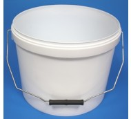 10 LITRE WHITE BUCKET