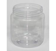 320ml CLEAR PVC JAR 70mm 400