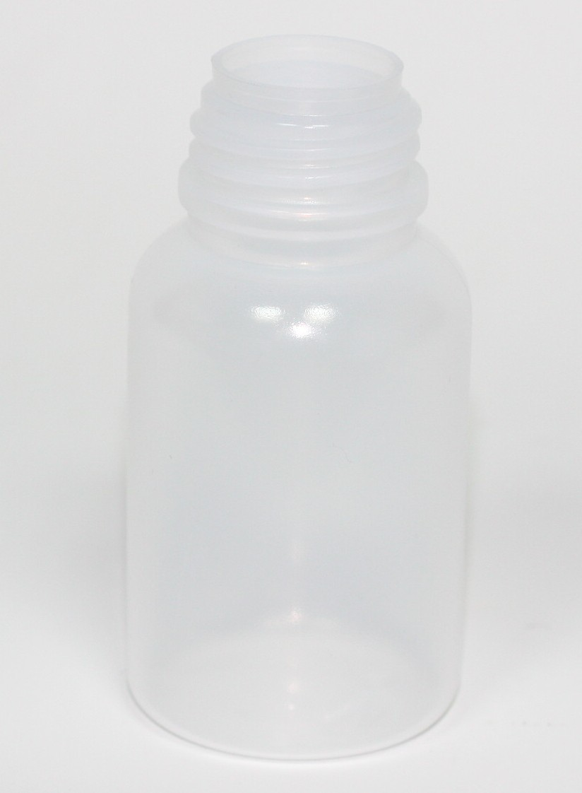 100ml WIDE NECK PERFECT SEAL NATURAL LDPE