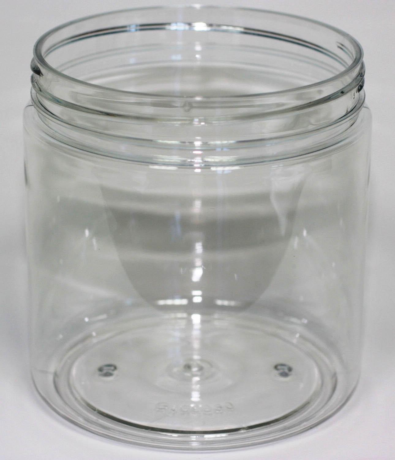 1000ml PET JAR CLEAR 106mm