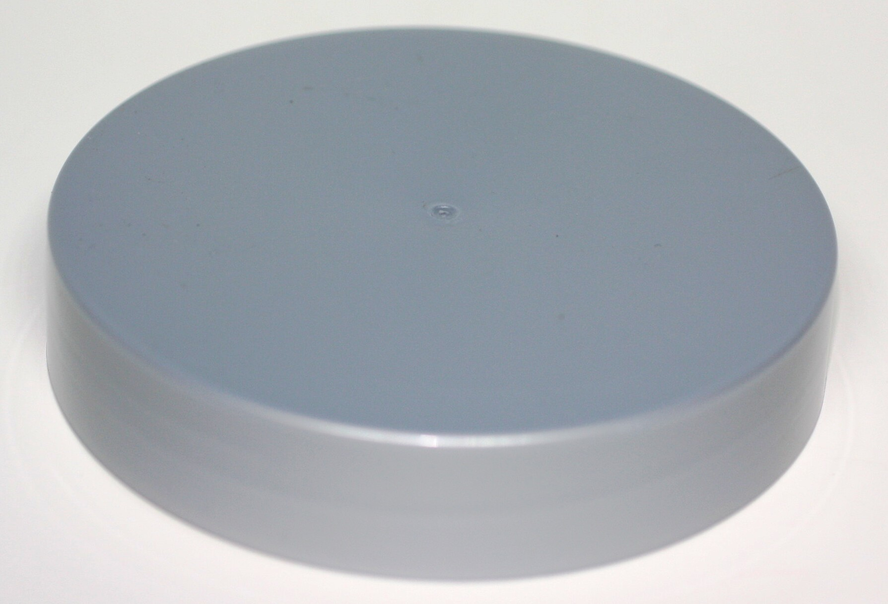 106mm SMOOTH WALLED LID TO FIT 500/1000ml SILVER PET