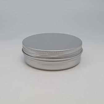 100ml ALUMINIUM JAR SCREW THREAD & CAP