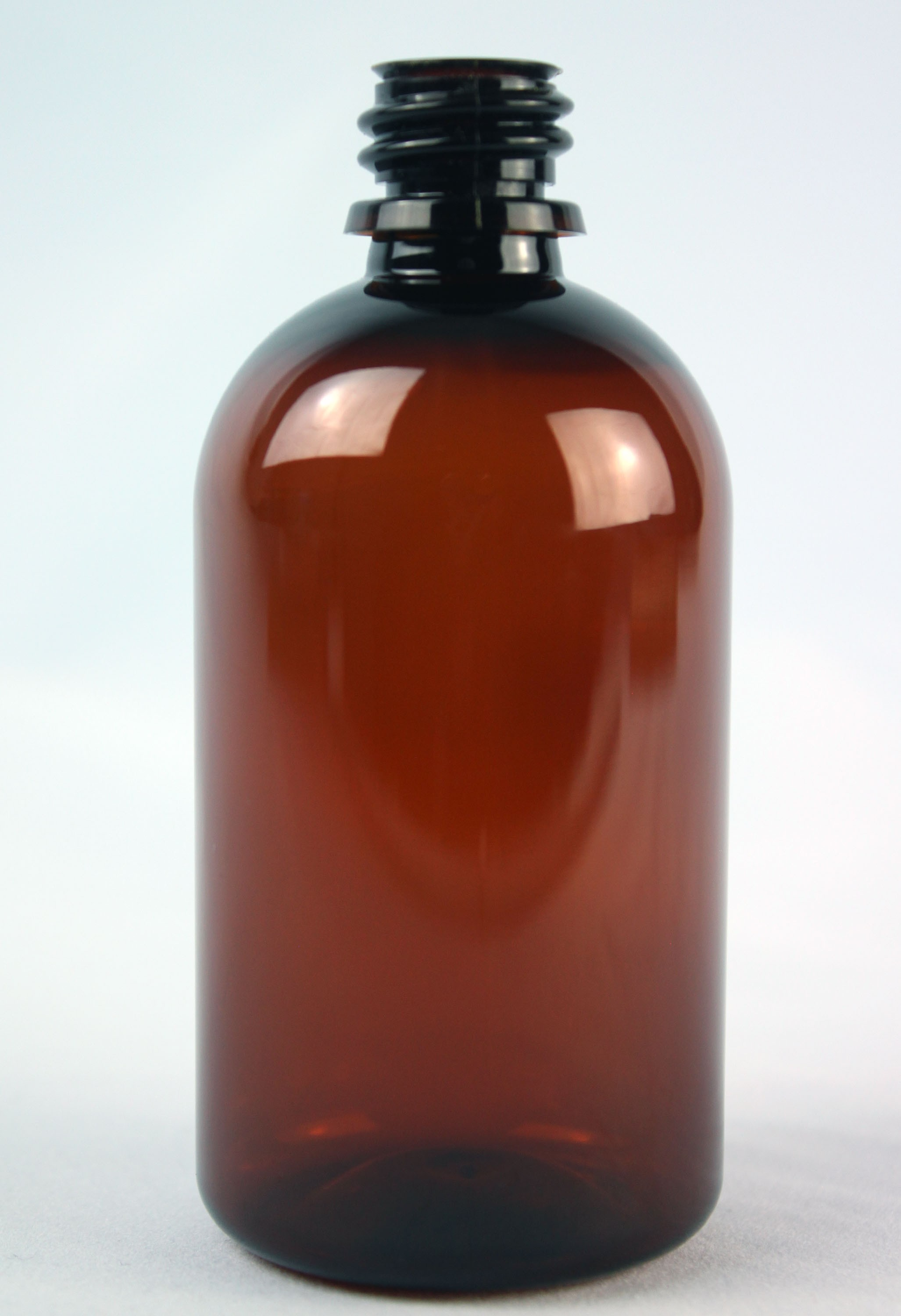 100ml THERAPY BOTTLE AMBER PET 18mm 400 (GL18)