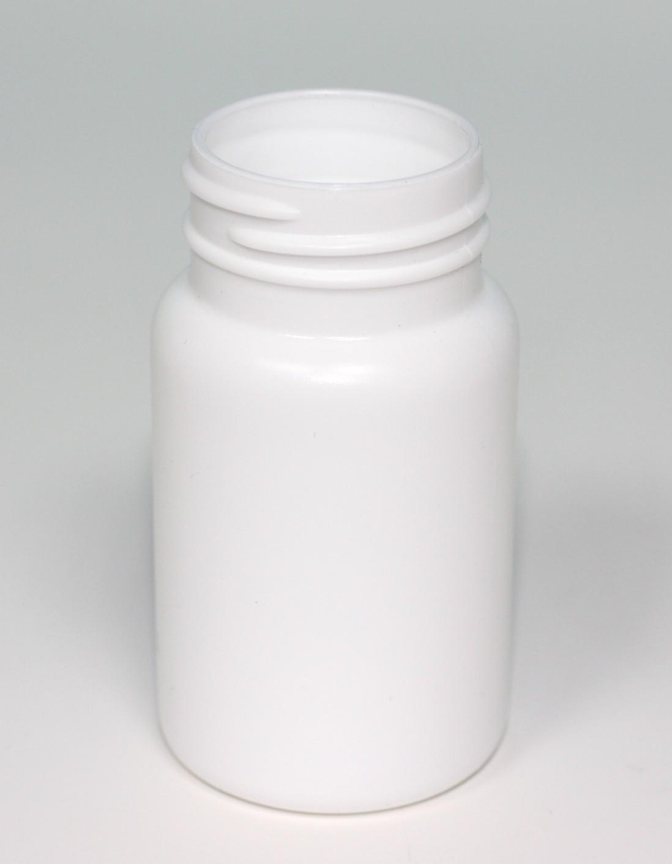 90ml SCREWTOP JAR WHITE HDPE 38mm 400