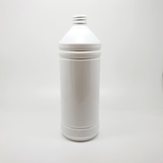 1000ml PET TAPERED NECK CYLINDER WHITE 28mm 410