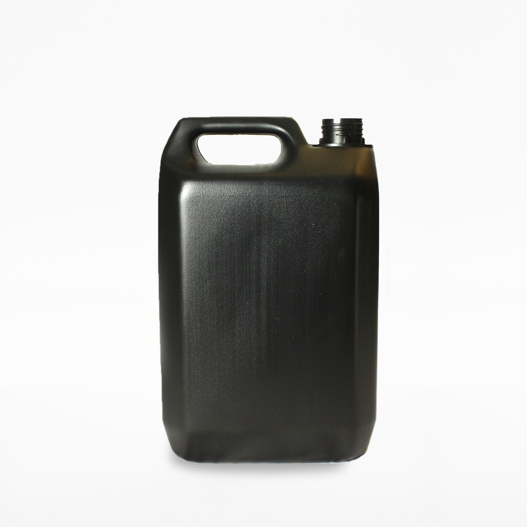 5000ml JERRYCAN BLACK HDPE 38mm 410
