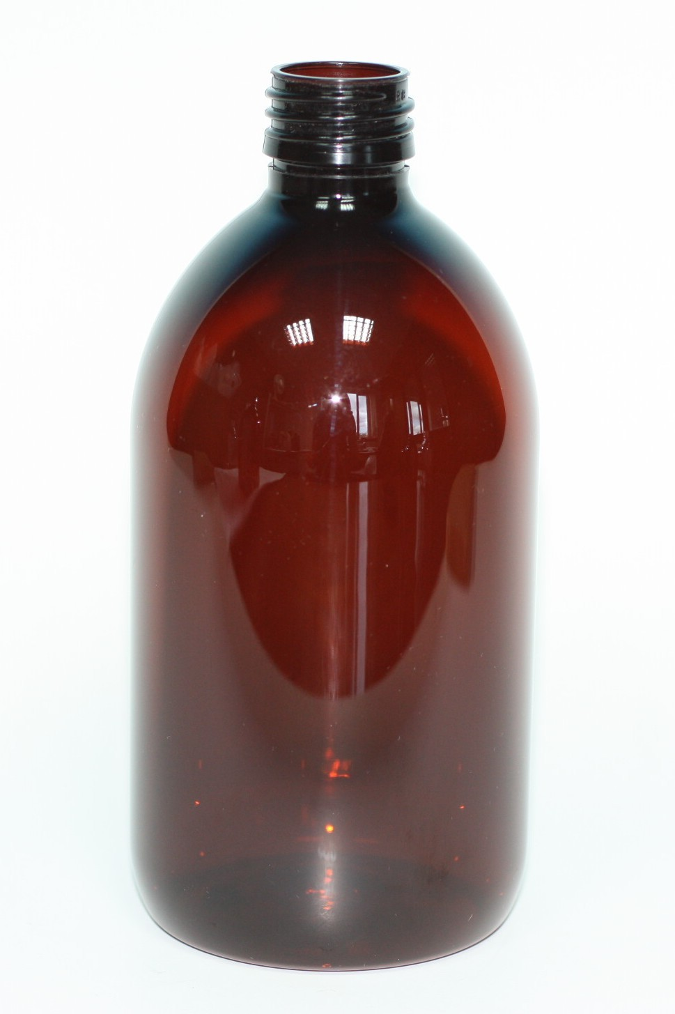 500ml SIRUP BOTTLE AMBER PET 28mm ROPP