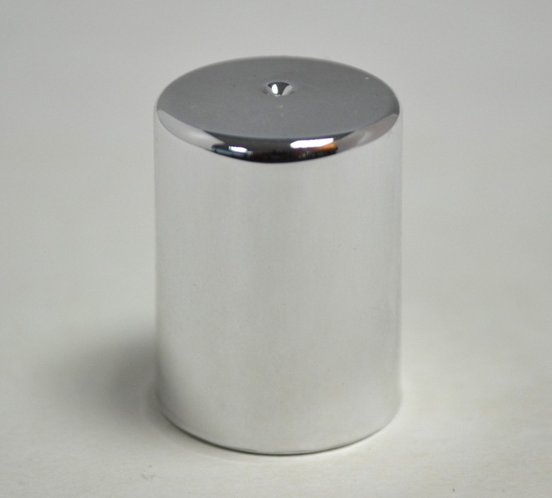 CAP FOR 10ml PET ROLL ON SILVER
