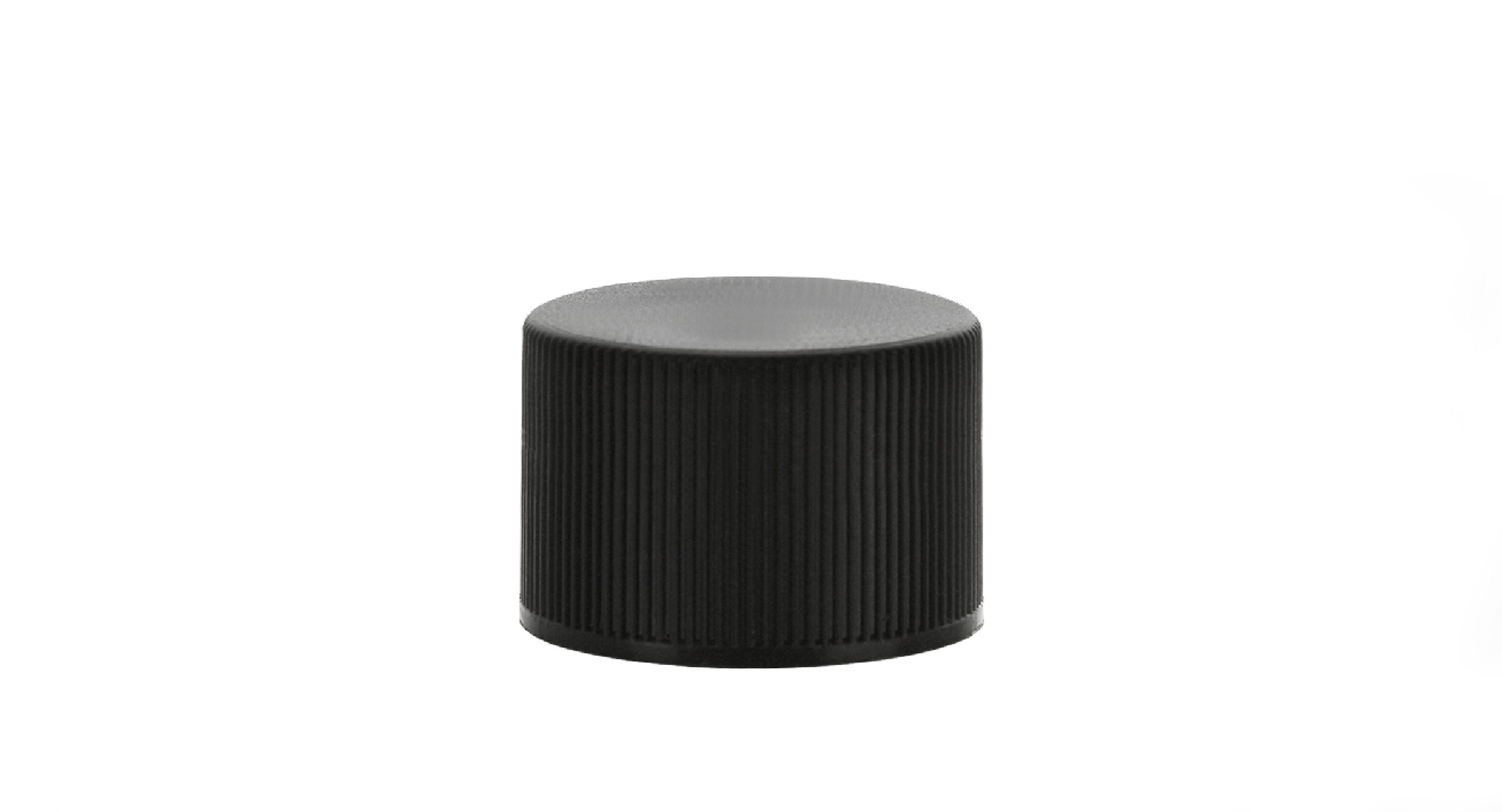 28mm 410 RIBBED CAP BLACK