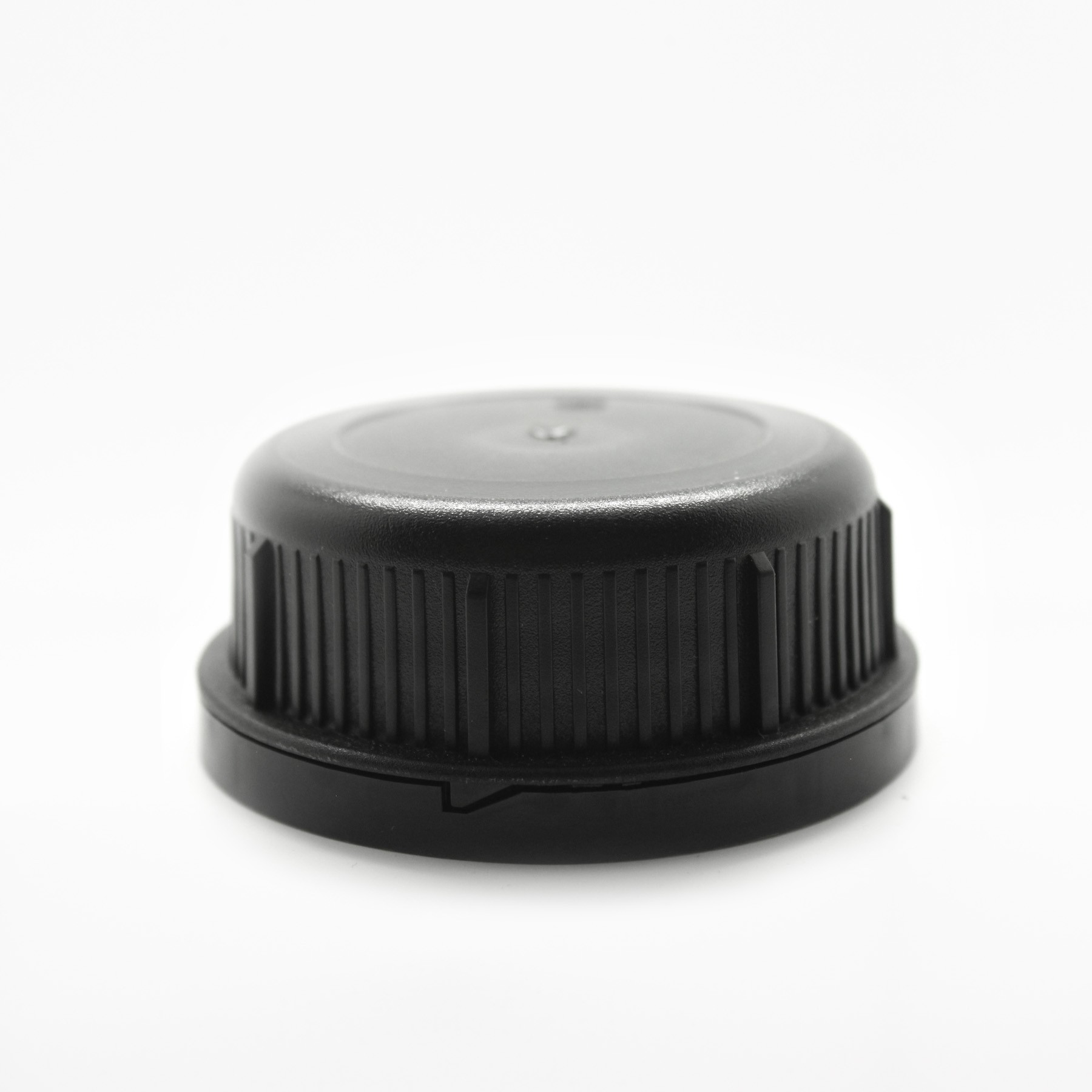 60mm BLACK TAMPER EVIDENT CAP