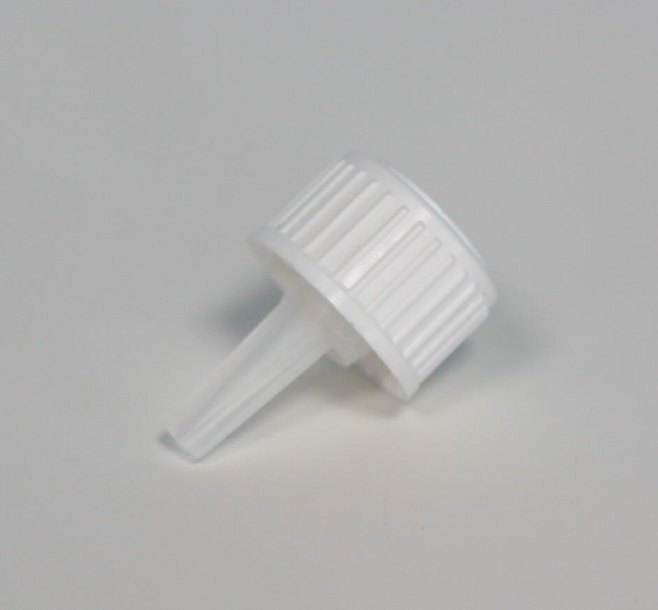 DROPPER FILLER CAP WHITE