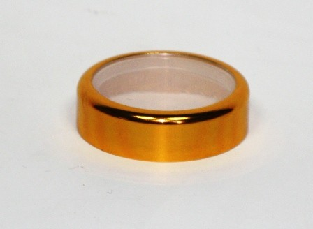 LID FOR 10ml SQUAT JAR WITH GOLD BAND