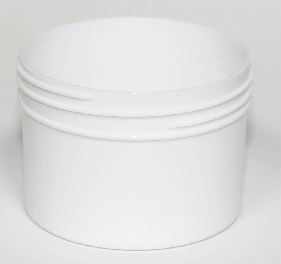 150ml WHITE PP JAR 70mm 400