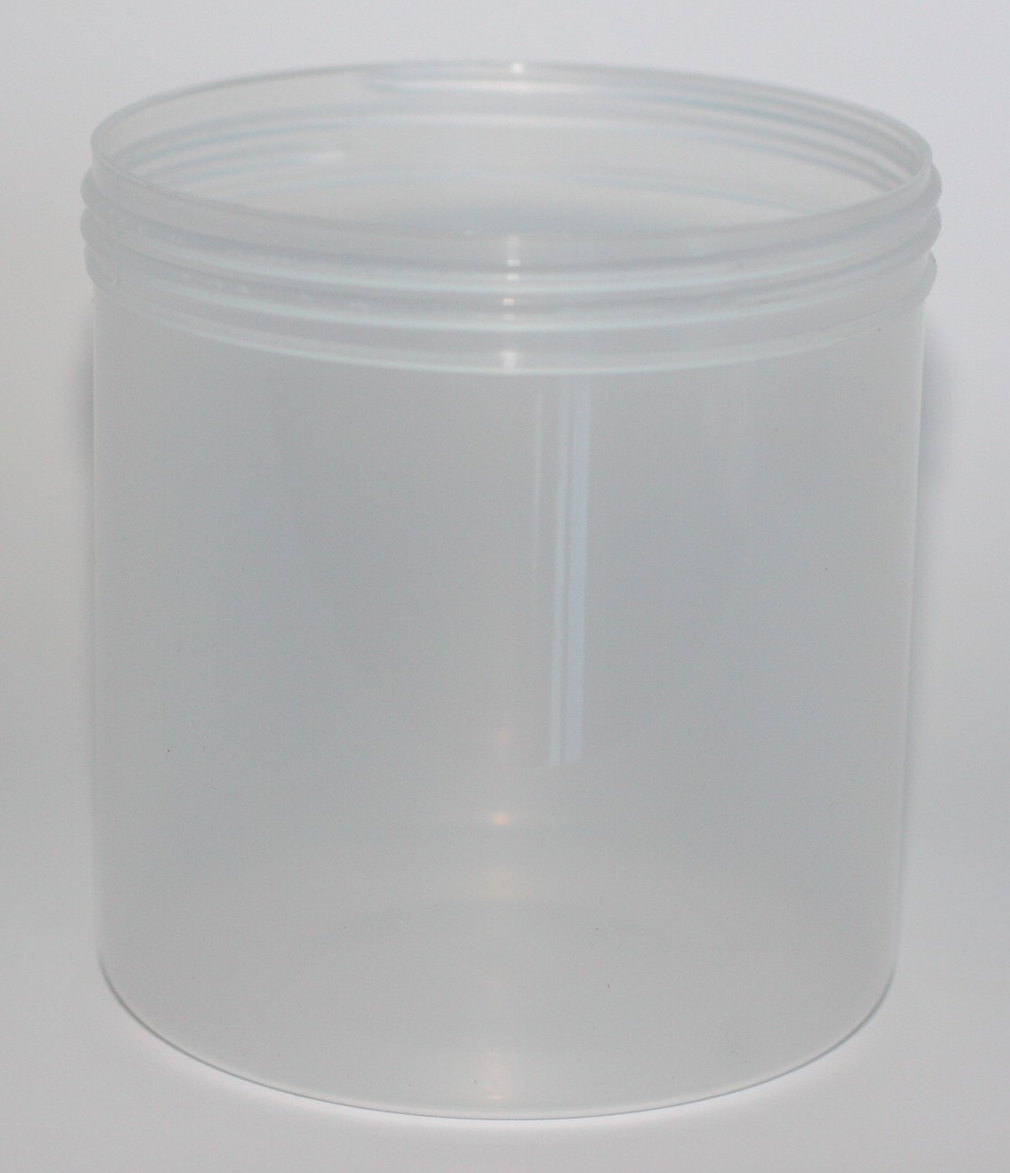 650ml JAR NATURAL PP 100mm