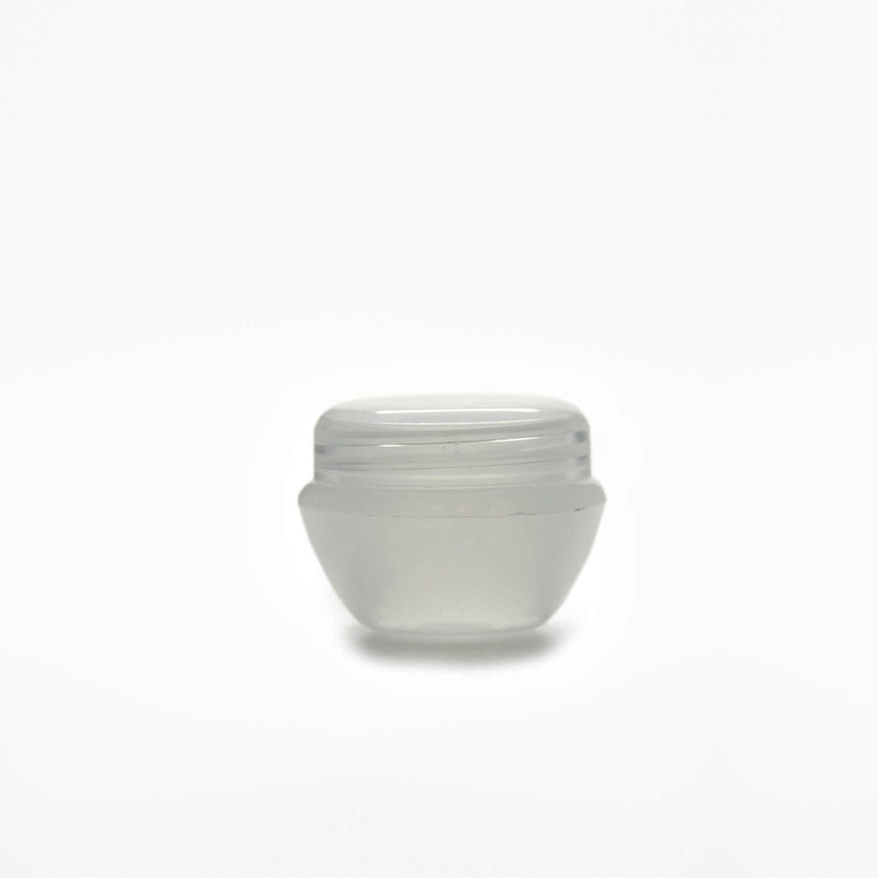 5ml COSMETIC JARS NATURAL COMPLETE WITH SHIVE & LID