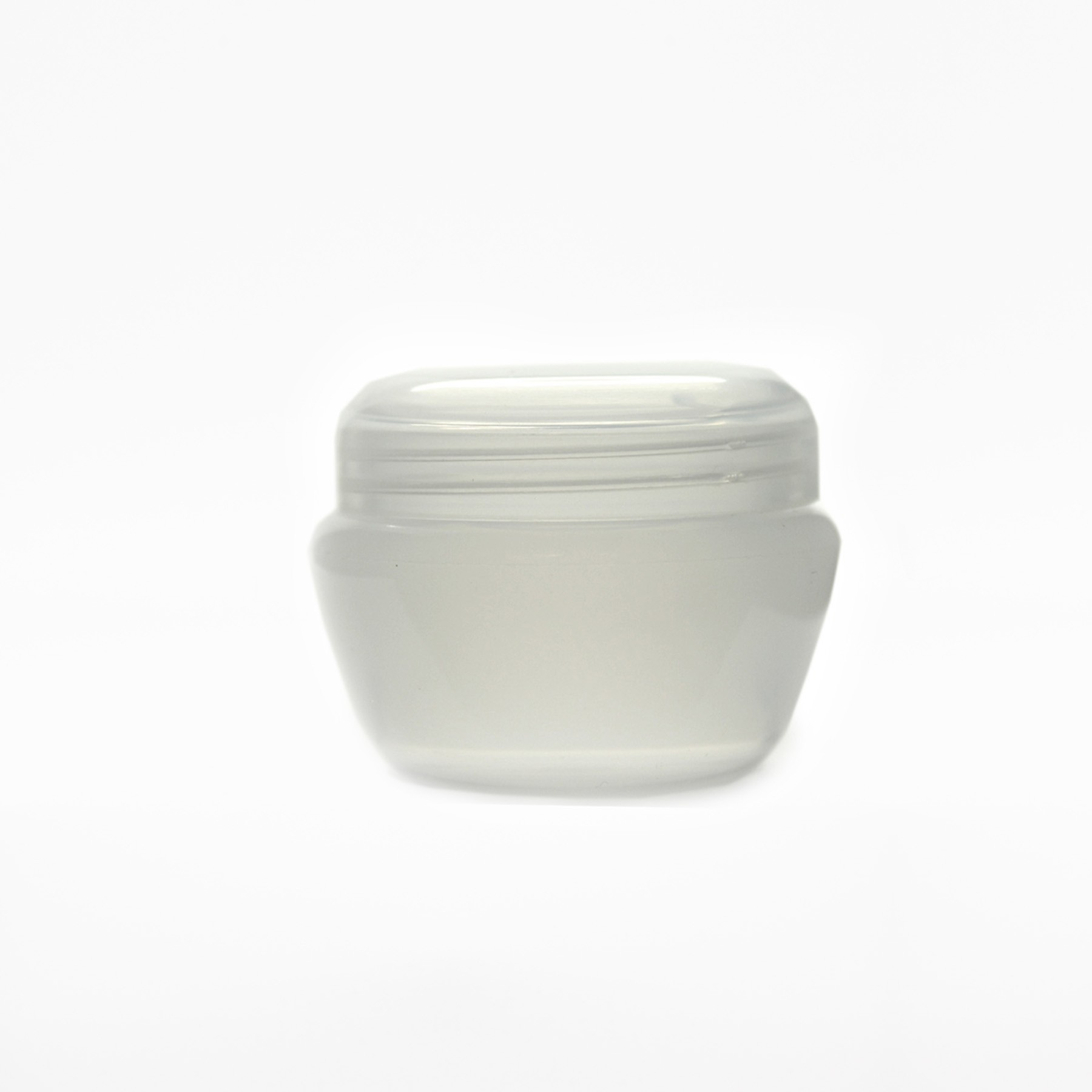 30ml COSMETIC JARS NATURAL COMPLETE WITH SHIVE & LID