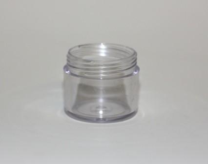 20ml SAN CRYSTAL JAR CLEAR