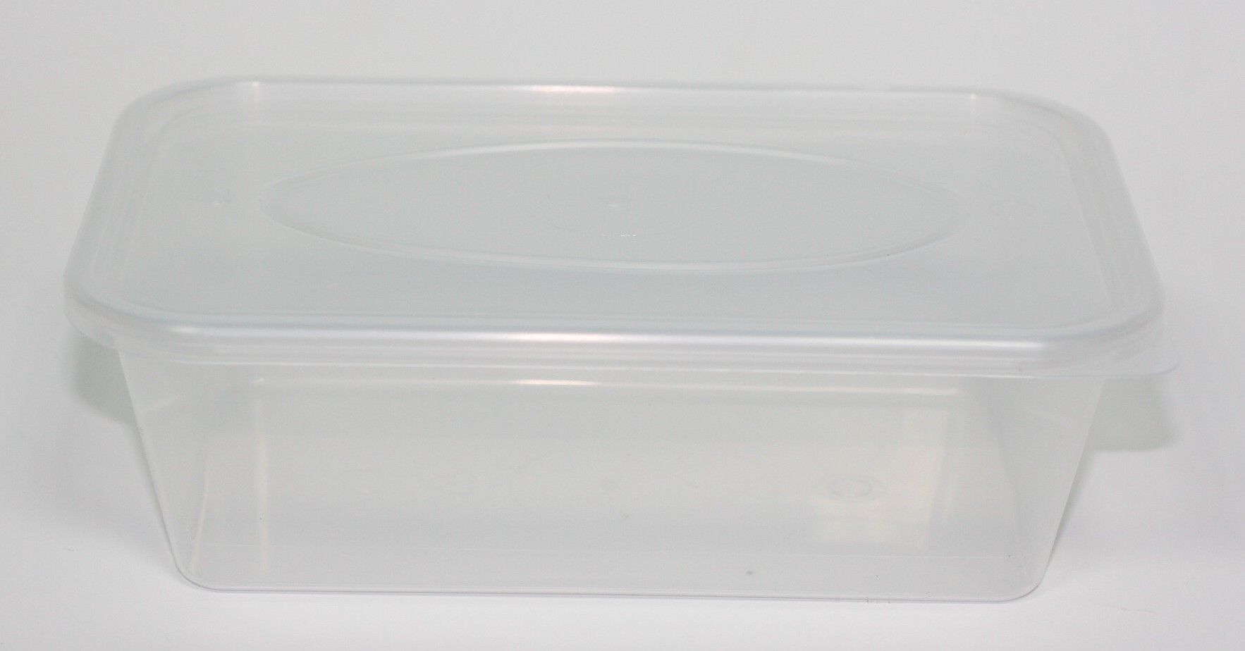 650ml FOOD STORAGE TUB NATURAL PP & LID