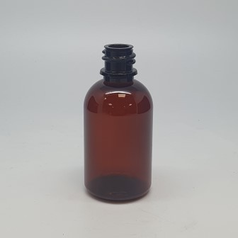 50ml THERAPY BOTTLE AMBER PET 18mm 400 (GL18)