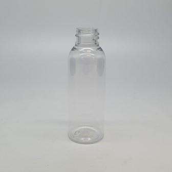50ml TALL CLEAR PET BOSTON 20mm 410