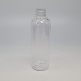 100ml TALL PET BOSTON CLEAR 20mm 410
