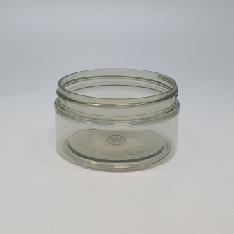 100ml STRAIGHT SIDED JAR 100% RECYCLED PET (PCR) 70mm 400