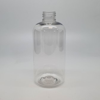 250ml PET BOSTON CLEAR 24mm 410