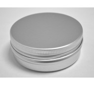 60ml ALUMINIUM JAR SCREW THREAD & CAP