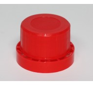 32mm TAMPER EVIDENT CAP RED