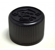 28mm 410 BLACK CRC MEDILOC CAP FOIL LINER