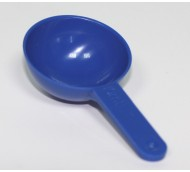 10ml POLYTHENE SCOOP BLUE