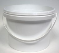2500ml POLY BUCKET WHITE