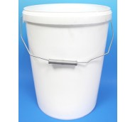 25 LITRE WHITE BUCKET