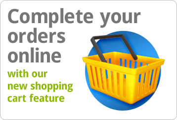 Complete your orders online